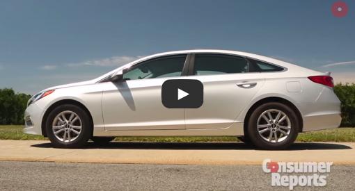 Consumer Reports Reviews The 2015 Hyundai Sonata