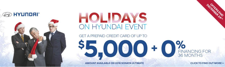 Holiday On Hyundai