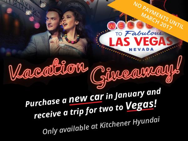 Las Vegas Vacation Giveaway